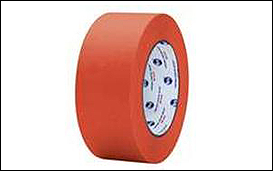 red stucco masking tape